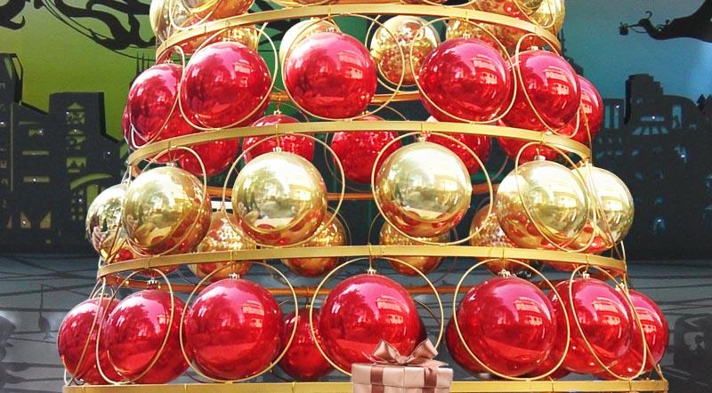 大型圣诞球