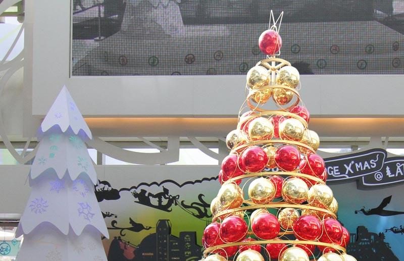 圣诞球树顶星